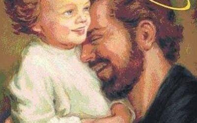 W ojcowskich ramionach św. Józefa
